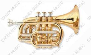 Pocket Trumpet /Professional-Level Pocket Trumpet (PTR-A400L) pictures & photos