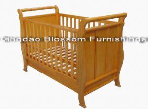 Sleigh Baby Crib (1102)