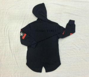 Boy Children Longline Sport Hoodies Clothes Sq-6708 pictures & photos