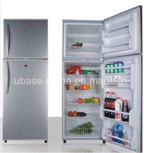 Double Door-up Freezer Refrigerator 388L pictures & photos