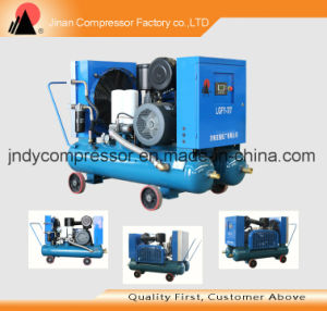 Air Cooled Portable Screw Air Compressor pictures & photos
