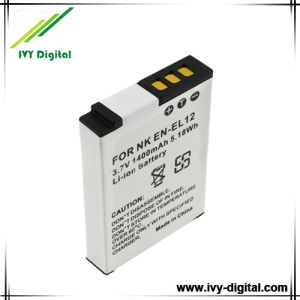 Digital Camera Battery for Nikon Coolpix S70 S6000 S8000 S9100 S800c (EN-EL12)