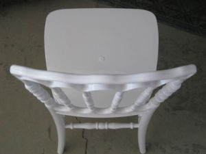 High Quality of White Resin Napoleon Chair in Wedding Rental pictures & photos