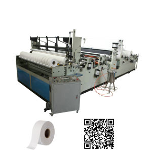 Automatic High Speed Rewinding Maxi Roll Tissue Paper Machine pictures & photos
