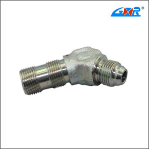 45 Degree Elbow Jic Male 74 Degree Cone/ SAE O-Ring Boss L-Series ISO 11926-3 Hose Fitting (XC-1JO4-OG) pictures & photos
