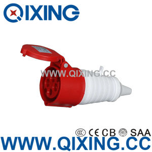 Cee Ordinary Type 32A 4 Pins Red Industrial Connector pictures & photos