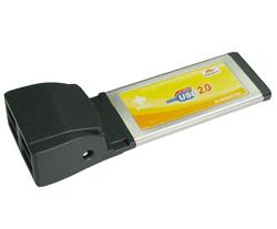 USB 2.0 ExpressCard/34mm (4-Port)