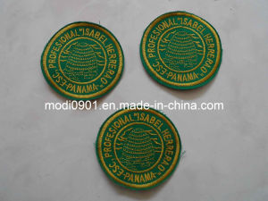 Promotion Good Quality Custom Embroidery Badges Embroidery Emblem pictures & photos