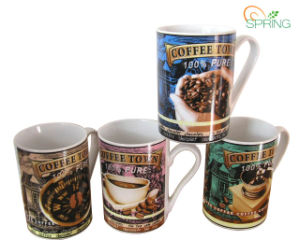 9oz Porcelain Coffee Mug (SPMUG057)