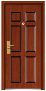 Steel Wooden Door (FXGM-C306) pictures & photos