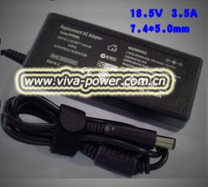 18.5V 3.5A 65W 7.4*5.0mm PPP009L Laptop AC Adapter for HP/Compaq
