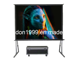 400 Inch Large Fast Fold Projection Screen Outdoor Portable Fast Fold Screen China Fast Fold
