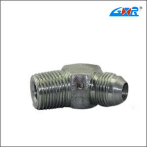45 Degree Elbow JIS Gas Male 60 Degree Cone/BSPT Male Adapter (XC-1ST4-SP) pictures & photos