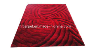 New Deaign 3D Carpet with 150d Silk (HXC-006)