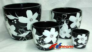 Ceramic Flower Pot (SC-7930)