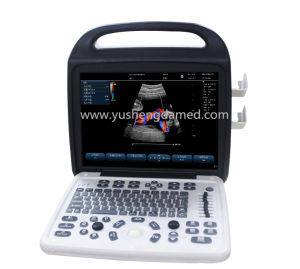 Hot Medical Equipment Portable Veterinary Color Doppler Ultrasound Scanner pictures & photos