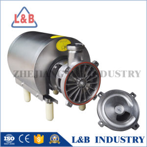 Sanitary Stainless Steel Self-Priming Pump pictures & photos