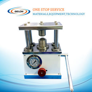 Manual Crimper Machine for Coin Cell Cr2025 Application pictures & photos