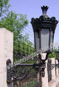 Cast Iron Lamp (SK-5023) pictures & photos