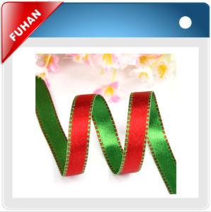 Ivory Ribbon Grosgrain Satin Ribbon pictures & photos