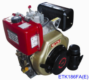 CE Approved Air-Cooled Diesel Engine (ETK186FA E) pictures & photos