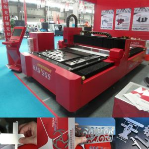 Optic Metal/Stainless Steel/Aluminum Fiber Laser Cutting Machine pictures & photos