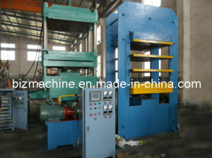 plate vulcanizing press machine frame type pictures & photos