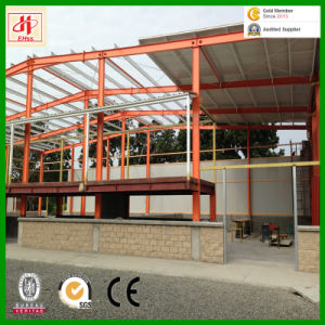 Prefabricated China Low Cost Steel Storage Warehouse Steel Frame pictures & photos