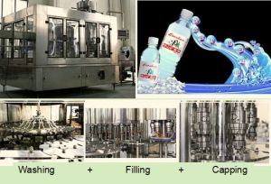 Pure Water Botting Line with Ce Approval pictures & photos