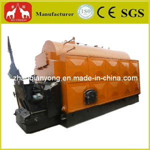 Industrial Dzl Series Automatic Grate Chain Coal Fired Hot Water Boiler for Hotel and Bath Center pictures & photos