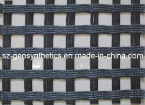 Warp Knitted Polyester Geogrid 500/500 KN/M (GPA500X500)