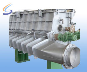 China CE Semiautomatic Paper Making Machine Open Headbox pictures & photos