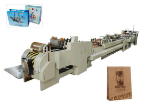 Paper Courier Bag Making Machine (MD) pictures & photos