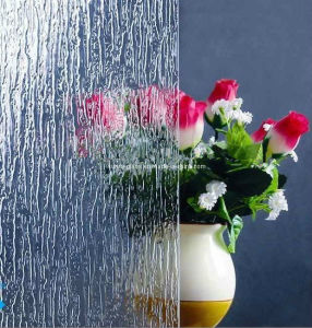 3-6mm Rain Patterned Decorative Glass-Figured Window Glass pictures & photos