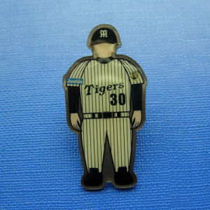 Offset Printed Lapel Pin, Human Image Badge (GZHY-OP-015) pictures & photos