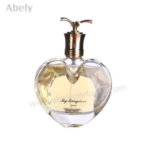 Heart Shape Brand Perfume Bottles with Alumite Caps pictures & photos