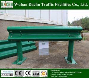 Powder Coated Highway W-Beam Guardrail pictures & photos