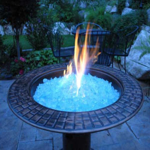 Blue Fire Pit Glass Rock pictures & photos