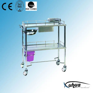 Stainless Steel Medicine Trolley (Q-8) pictures & photos