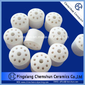 Alumina Ceramic Ten Holes Ring as Catalyst Carrier & Chemical Packing pictures & photos