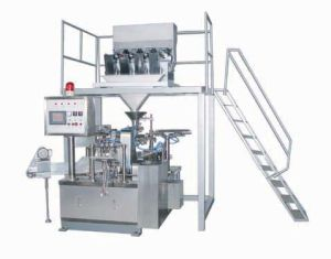 Rotary Type Granule Packing Machine (GD6-200A+KJL-4) pictures & photos