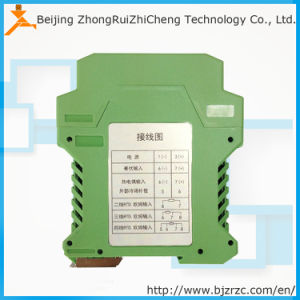 DIN-Rail PT100 High Quality 4-20mA Output Temperature Transmitter pictures & photos