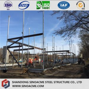 Steel Frame Commercial Building with Multi Floor pictures & photos