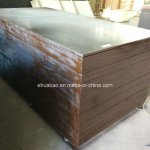 Waterproof Brown Film Faced Plywood/Shuttering Plywood/Construction Plywood for Concrete pictures & photos