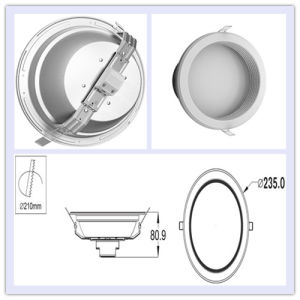 3 Year Warranty 36W LED Downlight with 3420lm