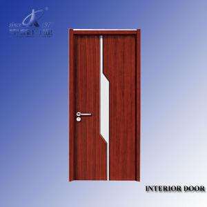 Interior Design Solid Wood Veneer Painting Door pictures & photos