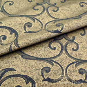 Bronzing Suede Home Textile Sofa Fabric for Decoration pictures & photos