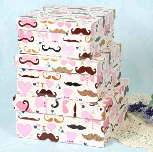 Humorous Stubble Design Printing Gift Box pictures & photos