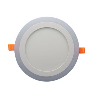 Double Color Recessed Downlight LED Panel Light pictures & photos