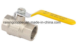Brass Ball Valve for Gas pictures & photos